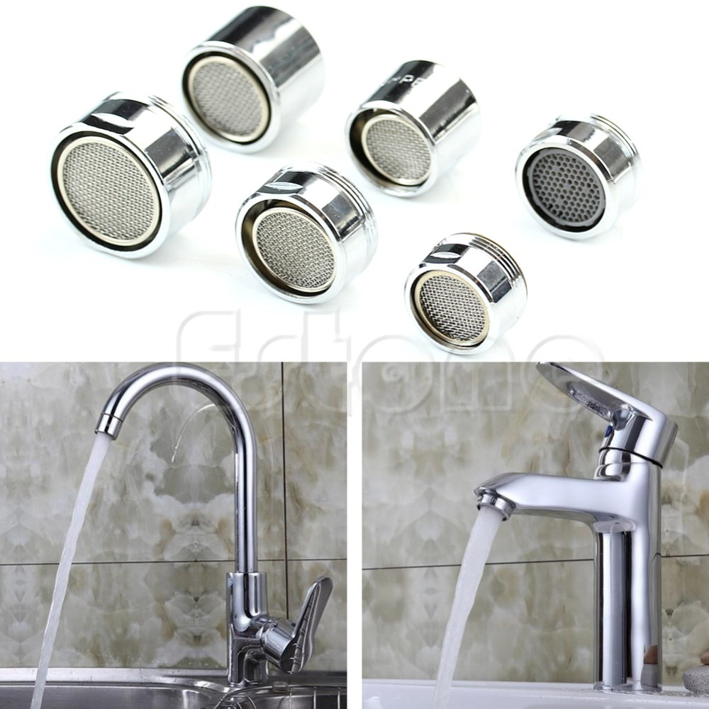 Faucet Aerator Sprayer 22mm Female Connectors Water-Saving Tap Nozzle Bubbler Filter Splash-Proof for Kitchen Bathroom Sink