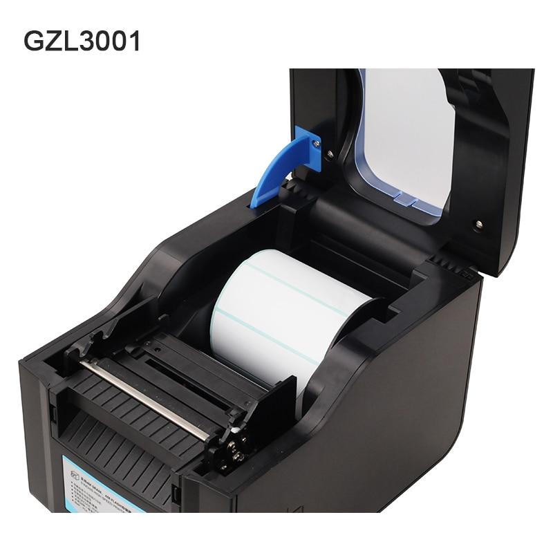 Thermal label printer USB 80mm Thermal Transfer Printer Receipt Barcode Printer 80mm Print Width for POS Logistic Jewlery Retail - 6