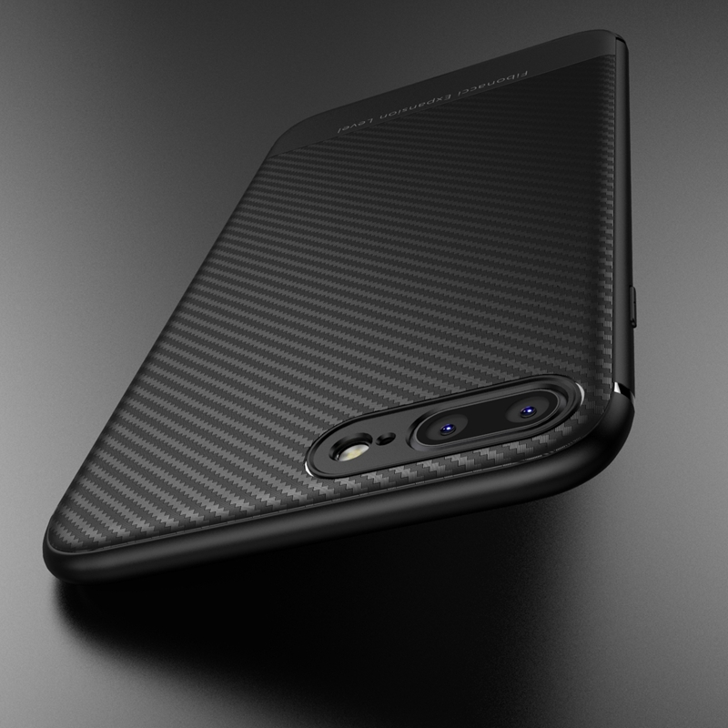 buy online 65af5 ede55 US $2.99 20% OFF|Luxury Case For iphone 6 s 6S plus iphone 8 Plus 7plus  6plus Carbon Fiber Soft Coque Cover For iphone 7 Plus XS MAX XR X 10  Case-in ...