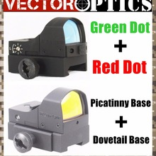 Векторная Оптика Сфинкс 1x22 мини микро Красная точка зеленая точка зрения с 11 мм ласточкин хвост и 21 мм Пикатинни Вивер крепление комбо 2в1