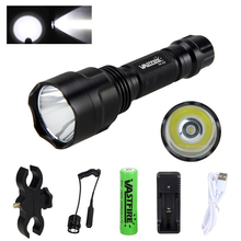 Led Flashlight XML T6 Linterna Torch 5000 Lumens Outdoor Camping Powerful Led Flashlight Waterproof+18650+USB Charger+Holder led flashlight xml t6 linterna torch 5000 lumens outdoor camping powerful led flashlight waterproof 18650 usb charger holder