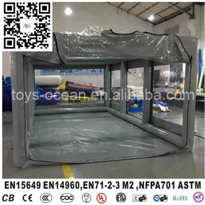 Dust proof inflatable car capsule garage cover in for Garage auto express carignan