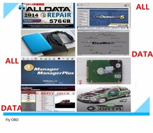 Neweast Auto Repair Software Alldata 10.53+ mitchell on demand 5 software 2015 new usb hard disk all data For Free DHL Shipping(China (Mainland))