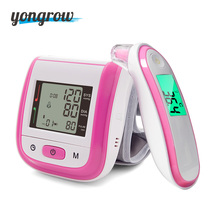 Big discount Yongrow Wrist Blood Pressure Monitor And Baby Infrared Digital Forehead Ear Thermometer
