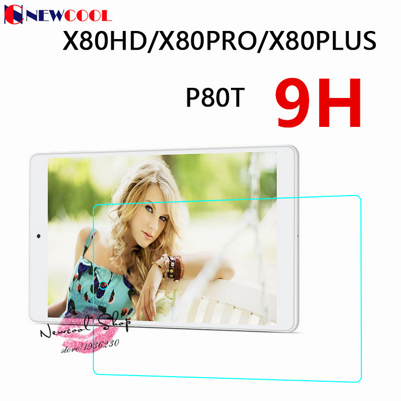 X80 Plus Pro Tablet Ultra thin 9H Tempered Glass Screen protector For Teclast X80HX80hd P80 t 80 Protective Film screen guard