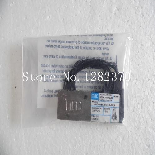 [SA] new original authentic MAC solenoid valve 44B-ABA-GDFA-1KA spot [sa] new original authentic mac solenoid valve 250b 111ca spot