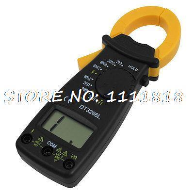 Voltage Current Resistance LCD Display Digital Clamp MultiMeter DT-3266LVoltage Current Resistance LCD Display Digital Clamp MultiMeter DT-3266L