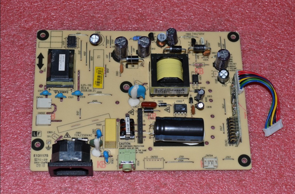 Free Shipping> E900HD G900HD power board  E900HDP pressure plate ILPI-110 Original-Original 100% Tested Working free shipping original c lwm930 la760 power board pu lwm930 pressure plate jsi 190401b original 100% tested working