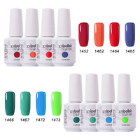 Hot Sale Color Varnish 15ml Arte Clavo 8pcs/lot Soak Off UV Gel Nail Gel Polish Cosmetics Nail Art Manicure Nails Gel Lacquer