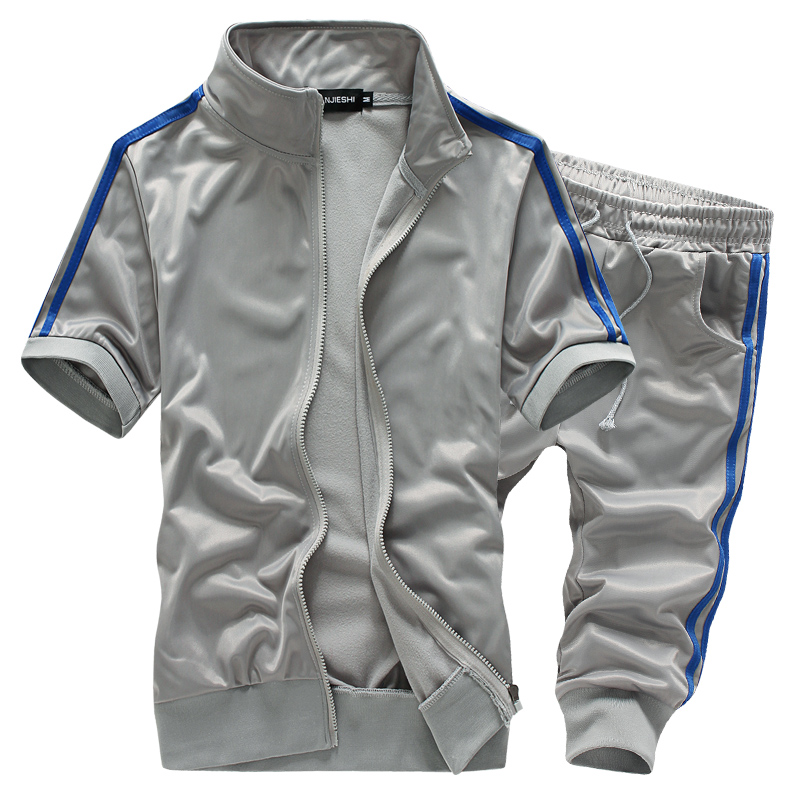 GODLIKE Mäns kortärmad shorts stil casual kostym 42e363968e862
