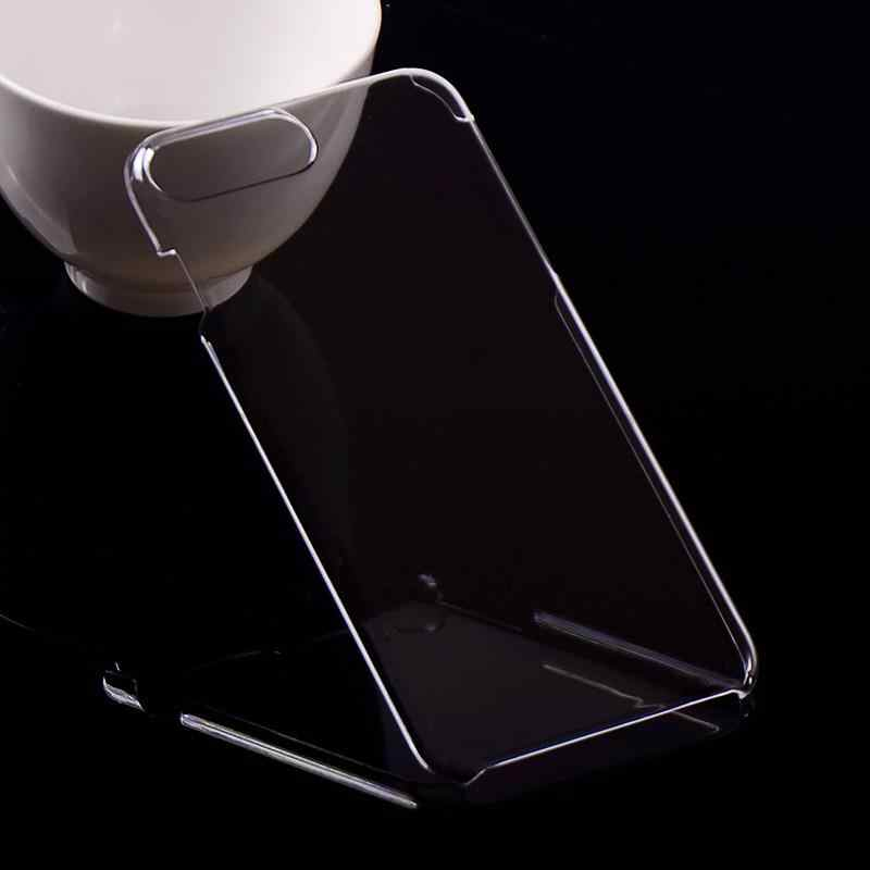 For iPhone 8 Plus Ultra Thin Hard Plastic Case Transparent Clear Crystal Glossy back Cover For iPhone 8 Protective sleeve Capa
