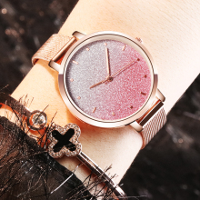 Fashion Women Starry Sky Watch Best Selling Luxury Rose Gold Women Bracelet Watches Ladies Clock Relogio Feminino Montre Femme asymmetrical bow one shoulder top