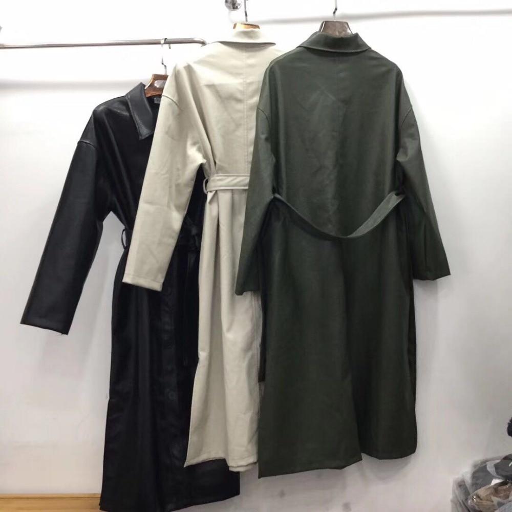 2018 Negro 2019 De Chaqueta Abrigo Mujer Para Moda Coreano Militar zx8nn6W