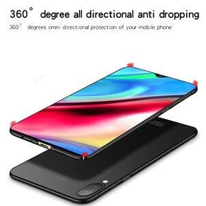 Image 4 - ViVO Y93 przypadku Silm, odporna na wstrząsy pokrywa luksusowe Ultra cienka, gładka, twardy telefon etui na Vivo Y93 tylna pokrywa dla ViVO Y 93 Fundas