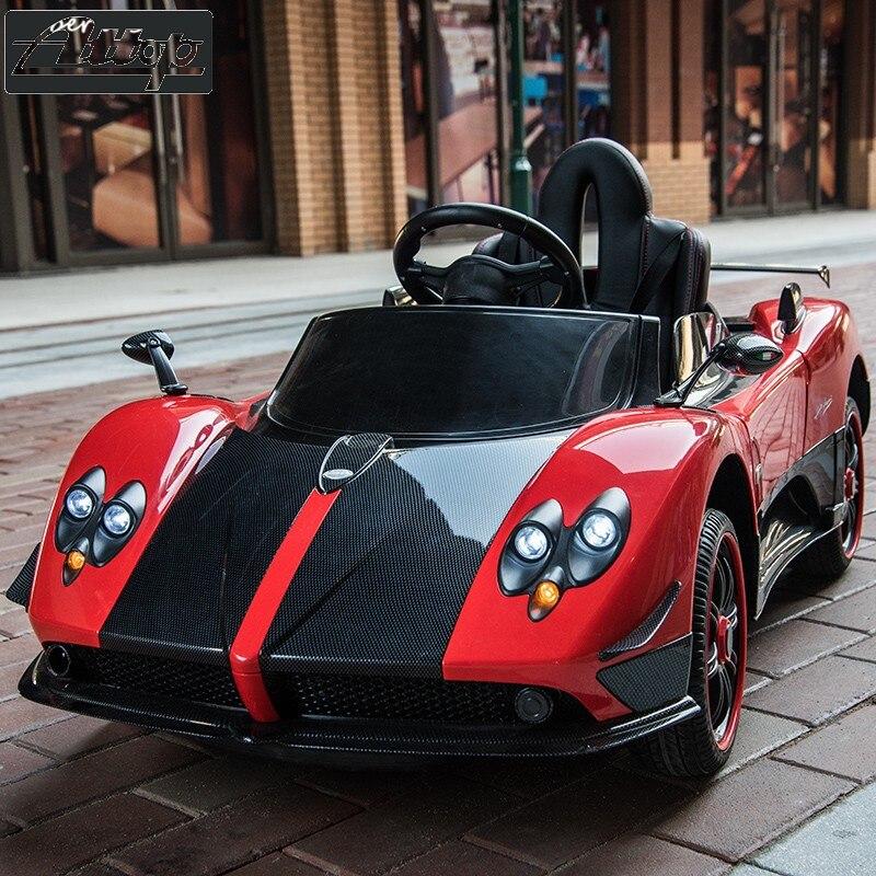 Nouveau Zonda enfants voiture électrique en plein air jouet peut s'asseoir sur quatre roues bébé télécommande Super voiture moniteur écran tactile musique