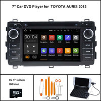 Quad Core Android 5 1 CAR DVD Player For TOYOTA AURIS 2013 Car Stereo Car Gps