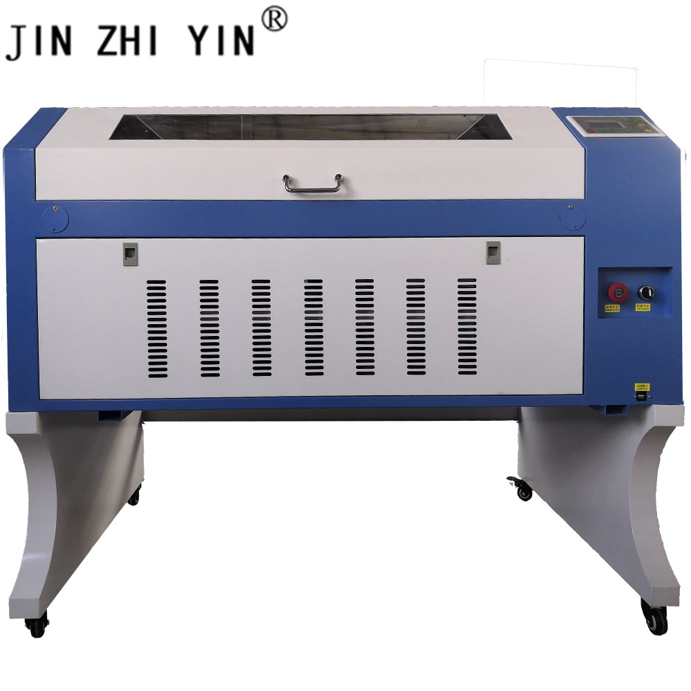 100w Reci 6090 Ruida Control System Laser Cutting And Engraving Machine Coconut Shell Laser Cutting And Engraving Machine