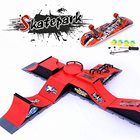 6 Types Skate Park Ramp Parts for Tech Deck Fingerboard Ultimate Parks Birthday Toy Gifts For Children
