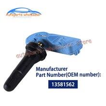 13581562 13581561 20922901 22853740 для GMC BUICK Кадиллак Chevrolet автомобиля датчик давления в шинах, шина Давление мониторинга Системы 433 МГц