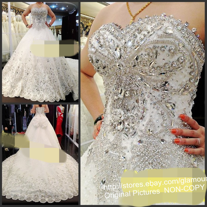 Images Of Blinged Out Wedding Dresses