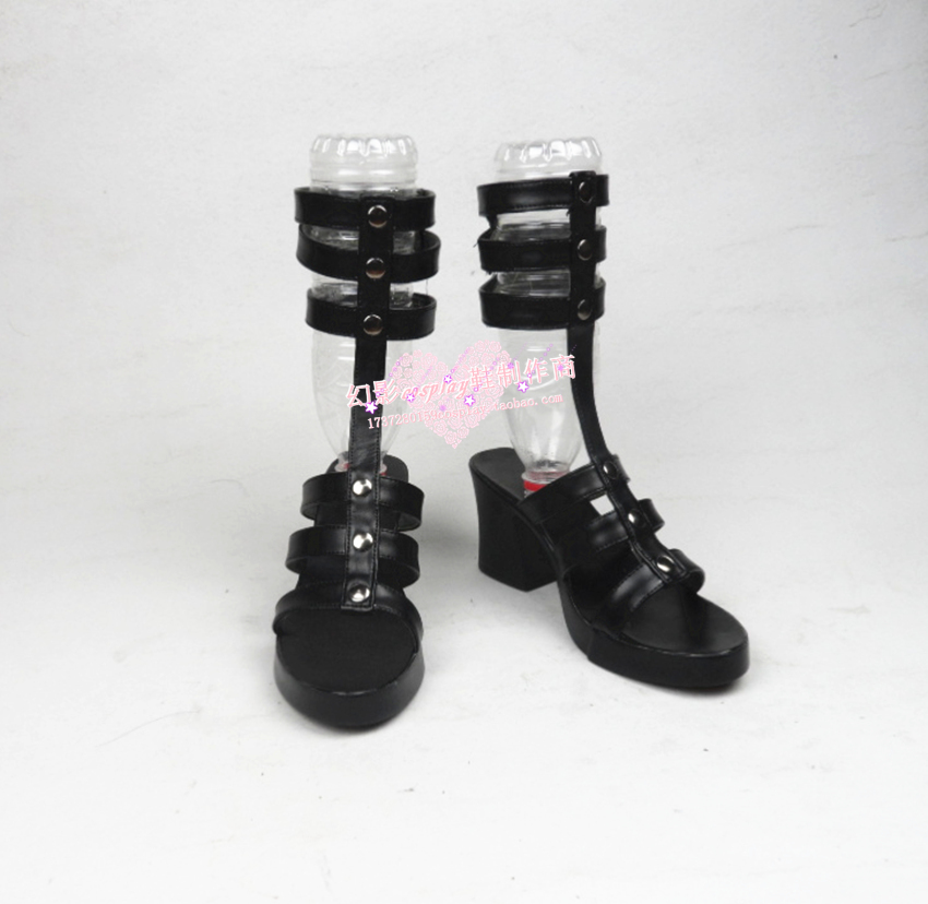 Persona 5 Tae Takemi Dark Physician Languid Doctor The Plague Punk Rock Woman Cosplay Shoes H016