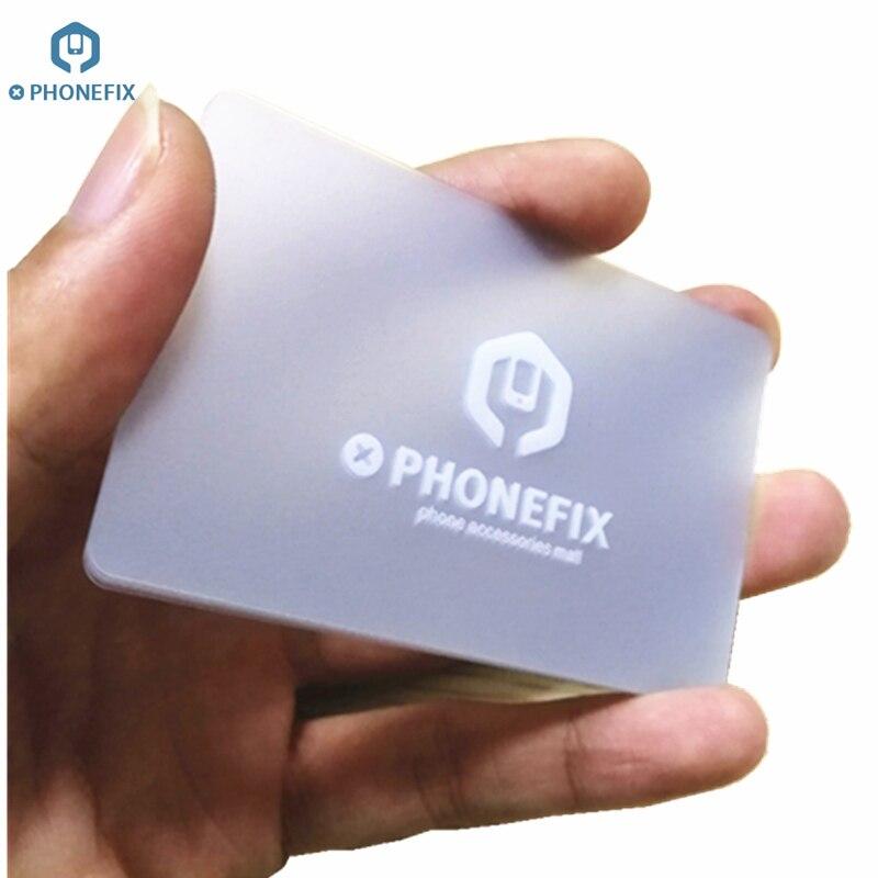 PHONEFIX Mobile Phone Screen Opening Card Plastic Scraper For IPhone IPad Cell Phone Screen Open Tablet PC Teardown Repair Tool