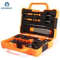 PHONEFIX JM 8139 Mobile Phone Repairs Tools Set 45 in 1 Multi Bit Screwdrivers Kit Spudger Tweezers for Mobile Phone Tablet