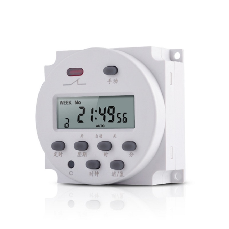 CN101A time control switch micro computer circuit breaker automatic power off advertising timer AC220V110V12V in Circuit Breakers from Home Improvement