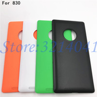 Original battery back cover For Nokia lumia 830 housing battery cover+wireless charging With Logo