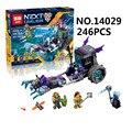 2017 caballeros de ruina lepin 14029 nexus lock & roller building block set queen alabarda figuras niños juguetes 70349 compatible