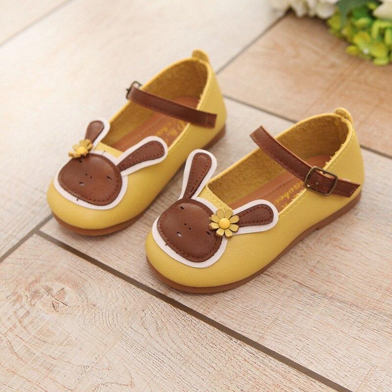 2018 Spring Baby Girls Princess Leather Shoes Kids Dress Shoe Children Wedding Party Soft Soled Infantil Chaussure Enfant Fille