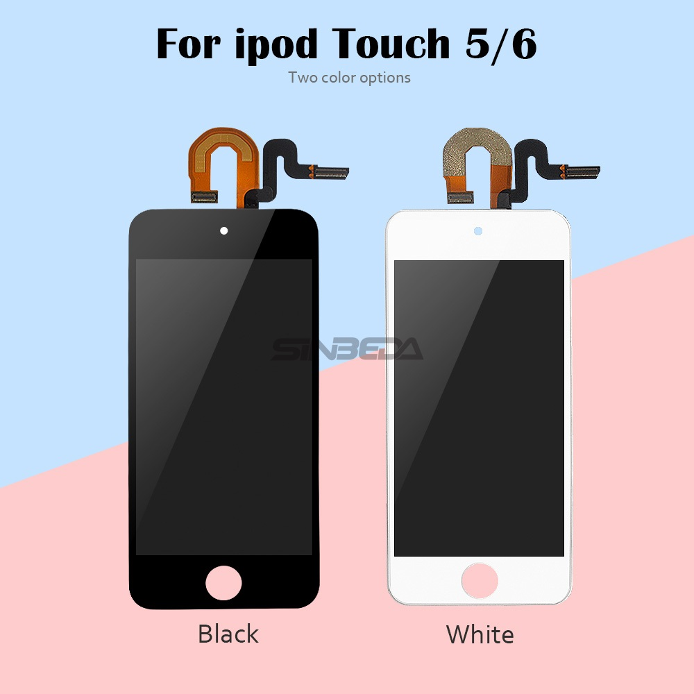 Sinbeda For IPod Touch 5 5th LCD Display+Touch Screen Panel Digitizer Assembly For IPod Touch 6 6th LCD Screen For IPod 5 Screen
