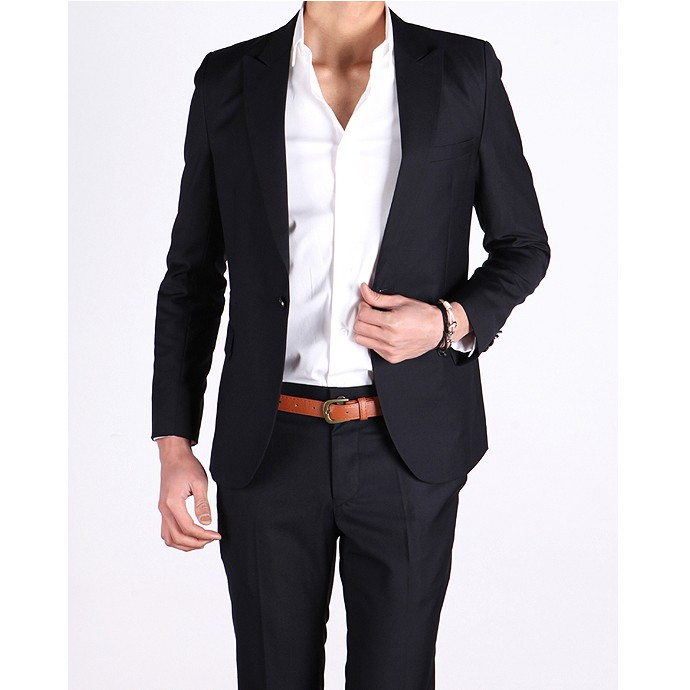 Black Casual Suit | My Dress Tip