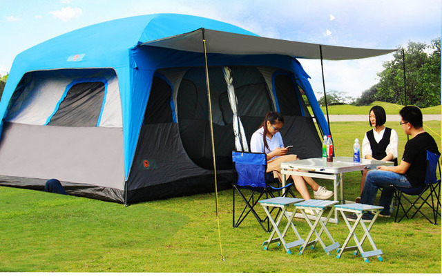 TY Outdoor high quality Windproof waterproof Durable family c&ing gear party marquee tent prefabricated luxurious winter & TY Outdoor high quality Windproof waterproof Durable family ...