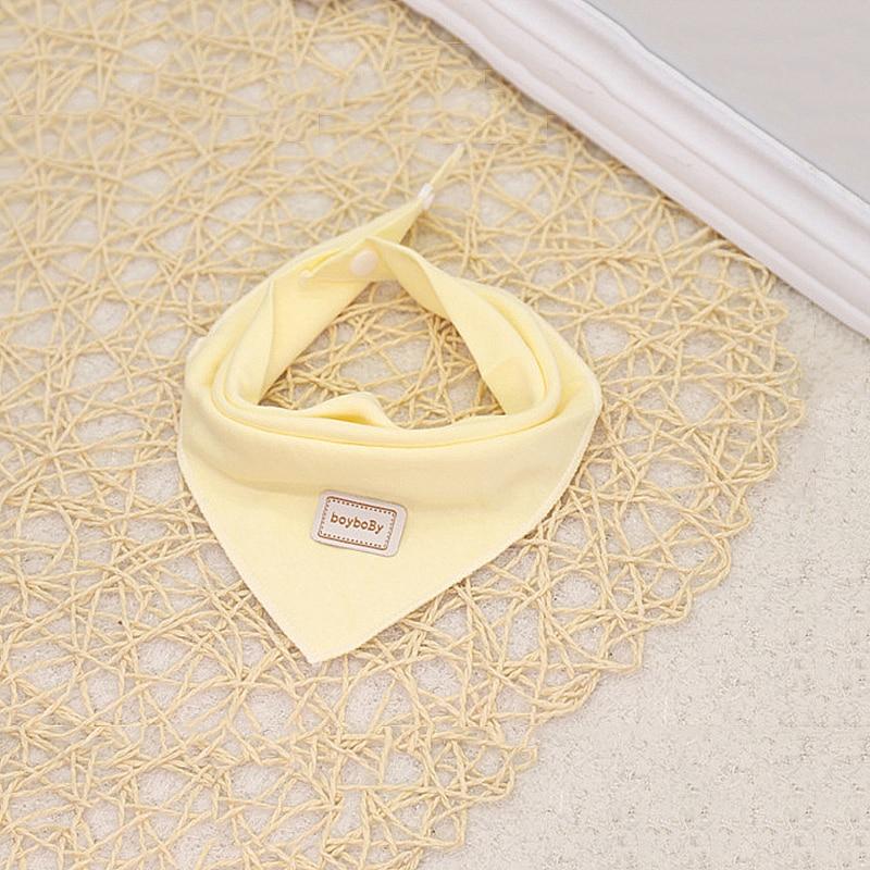 2019 New Arrival Baby Caps&Bibs Double Layer Cotton Material Infant Saliva Towel  Solid Bib&Hat Non-irritating Adjustable Bibs