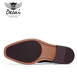 Image 5 - DESAI Yeni Gelenler Erkekler İş Elbise Ayakkabı Hakiki Deri Brock Retro Beyefendi Ayakkabı Resmi Oyma Bullock Ayakkabı Erkekler DSA002
