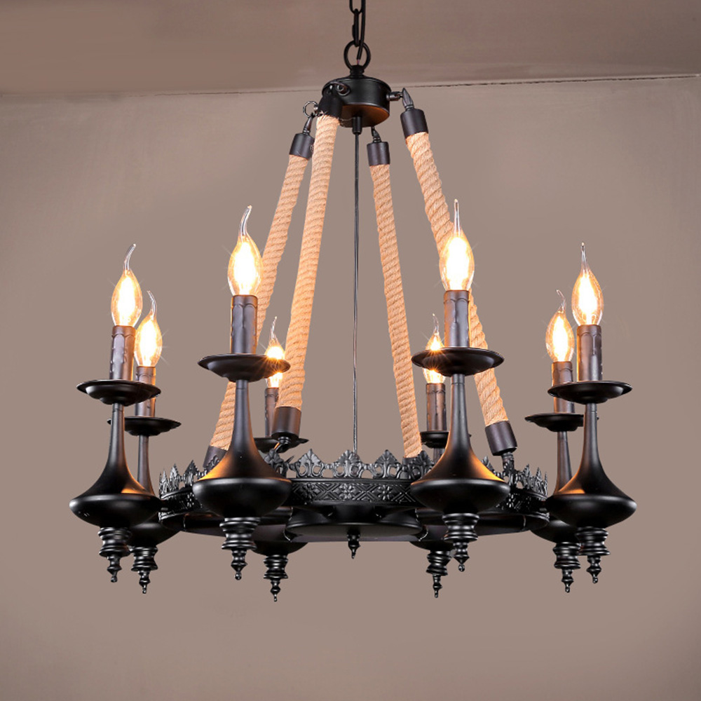 Northern Europe Vintage Chandelier, Modern Kitchen Lamp