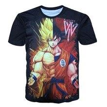 Dragon Ball Z T shirt Super Saiyan Son Goku Black Gohan Vegeta Master Roshi 3D Printed Men Summer T-shirts Kakarotto Tops Tees