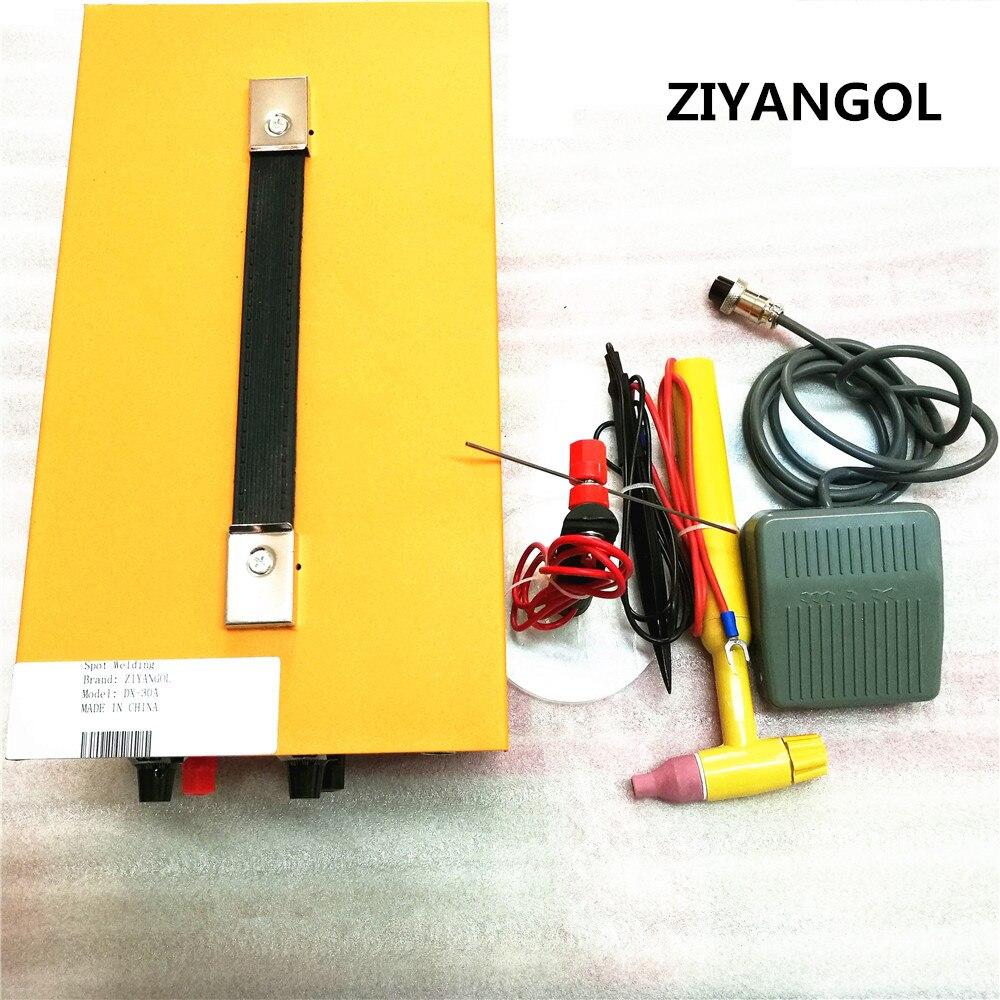 ZIYANGOL DX-30A Golden Welding Laser Spot Welding Good Pulse Spot Welder 200W Jewelry Welding Machine Gold Silver Platinum  цены