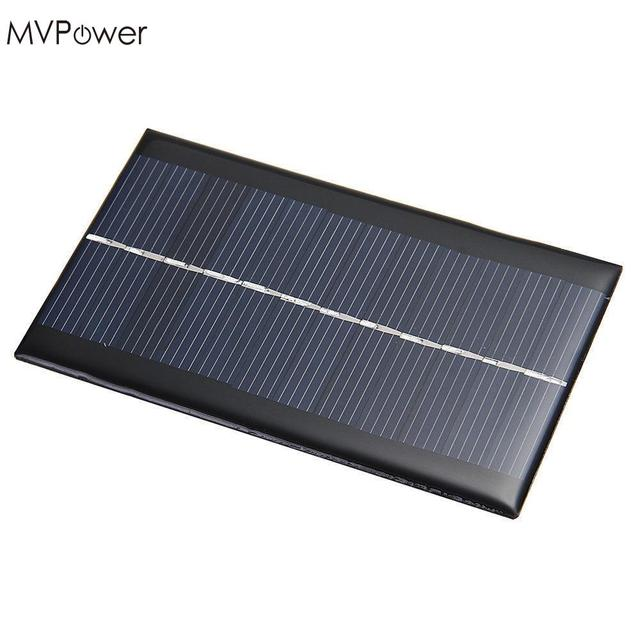 MVpower Portable Mini 6V 1W Solar Panel Bank Solar Power Panel Solar System Module Home DIY Panel Phone Toy Chargers