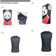 FORUDESIGNS Mens stringer tank top 3D Animal Vest Crew Neck Sleeveless Shirt Elastic Stringer Undershirt Singlet Bodybuilding