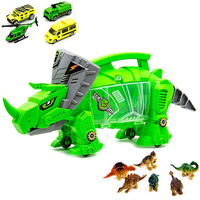 Perfect Storage Carrier Toy Car For Dragon Series Dinosaurs and Cars Built in Toy Car with Children's Toys with C9915