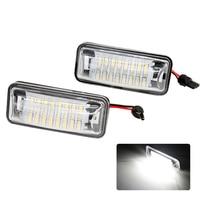 2pcs Lot Car LED License Plate Light Number Lamps Error Free 24 SMD For Subaru BRZ