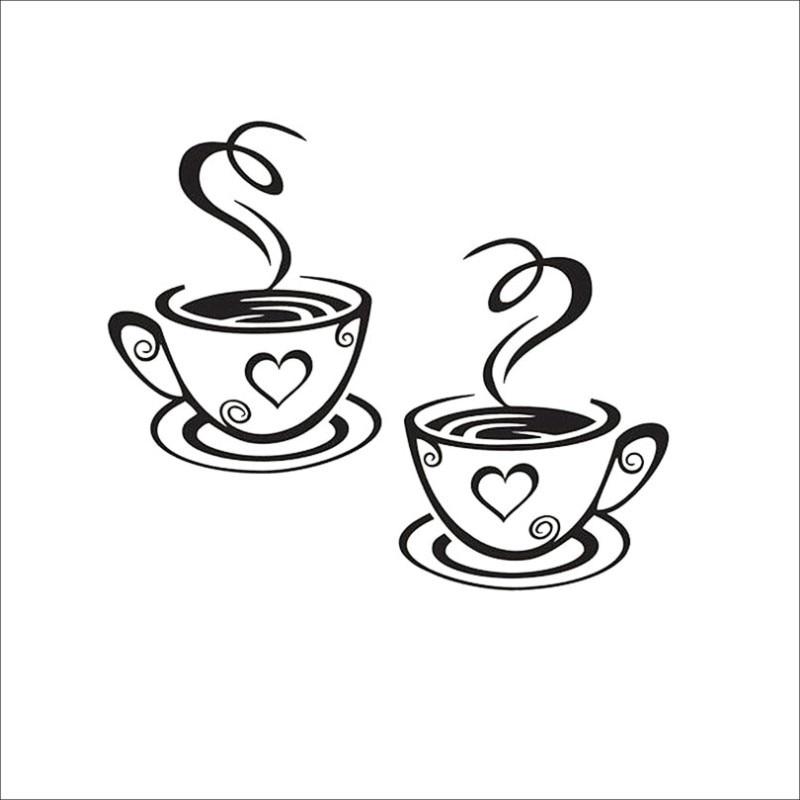 Двомісні кавові чашки Настінні - Домашній декор