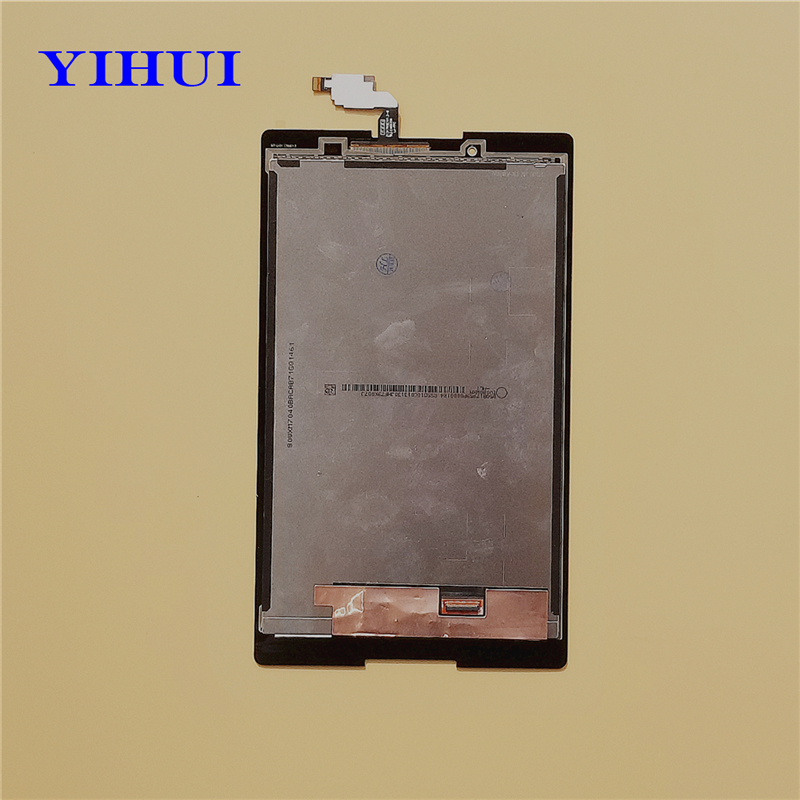 YIHUI 5Pcs/lot For Lenovo Tab 2 A8-50 A8-50F A8-50LC LCD Display Touch Screen Assembly Replacement 8-inch Black new 8 inch for lenovo tab 2 a8 50f tab2 a8 50lc a8 50 tablet pc touch screen lcd display assembly parts case free shipping