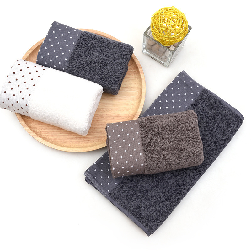 35x75cm Large Cotton Bathtub Shower Towel Thick Towel Household Bathroom Adult Hotel Children 39 s Face Towel Saliva Washcloth in Face Towels from Home amp Garden