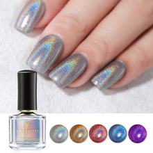 BORN PRETTY Holographic Nail Polish 6ml Flourish Series Laser Varnish Shining Glitter Manicure Art Lacquer Chrome