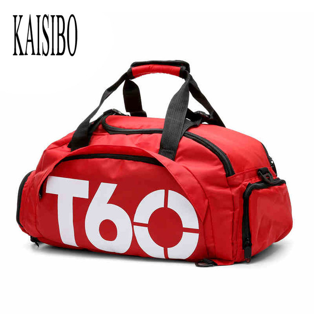 KAISIBO Fashion Letter Print Men Travel Bag Women Luggage Backpacks Shoe Case Travel Bags 5 Colors Nylon Bag Men