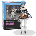 Re:ZERO Starting Life In Another World figma Rem 346 / Ram 347 PVC Action Figure Collectible Model Toy 2 Styles