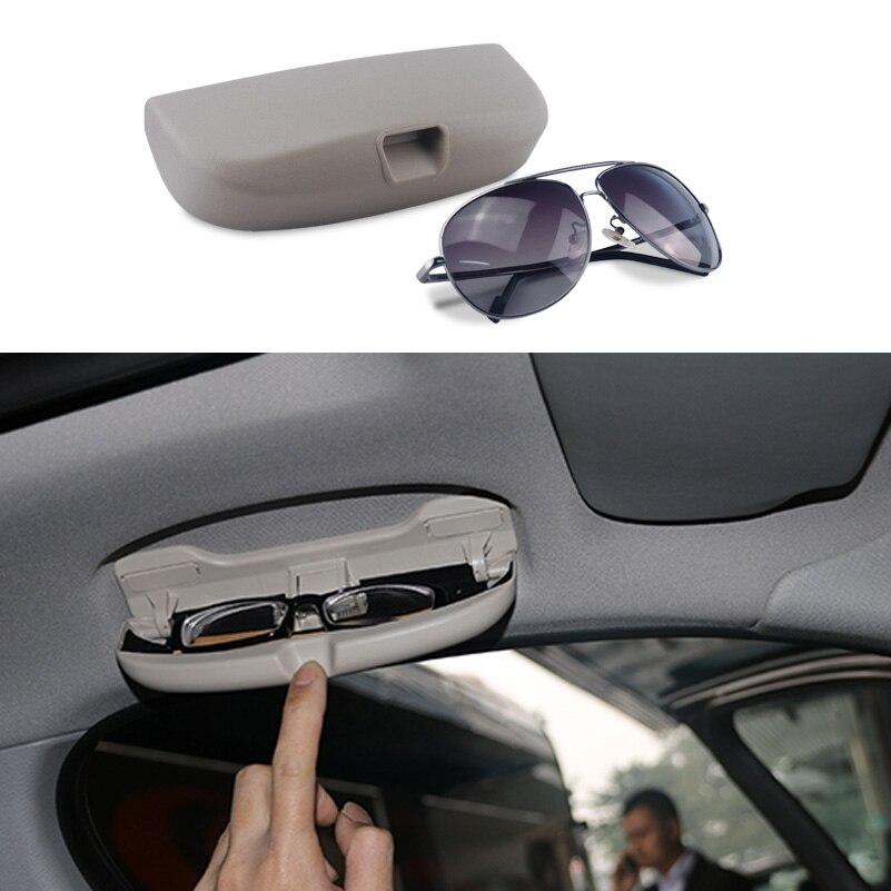 Car Sunglasses Box Case Glasses Holder for Mercedes Benz C205 S205 W204 W205 W212 W213 W210 W202 A207 Cl203 W166 C209 C207 очки мерседес